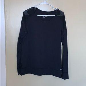 Reebok dryfit long sleeve mesh shoulder